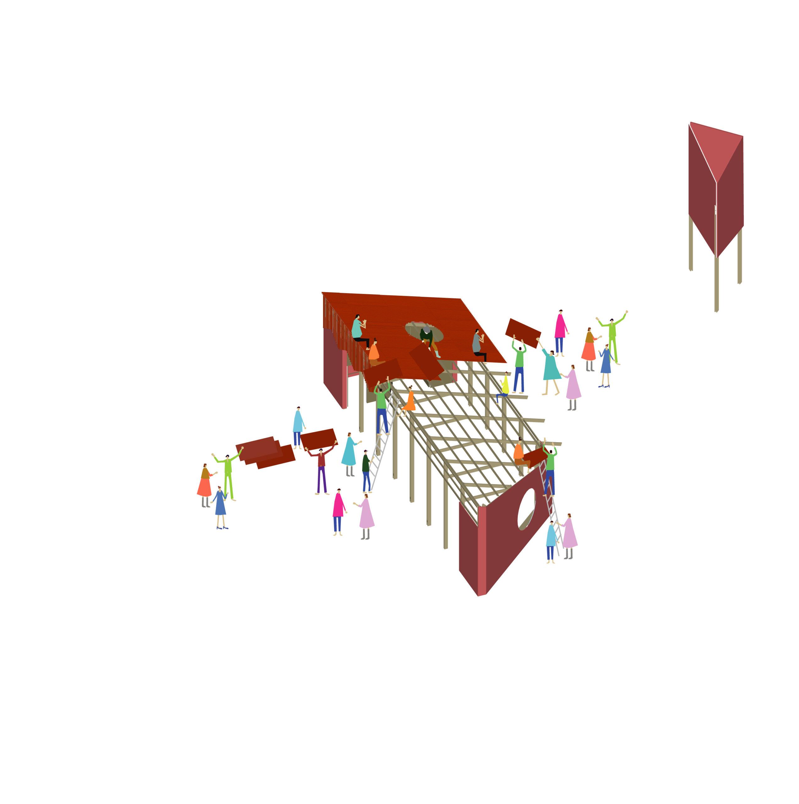Tottenham Pavilion design by Nine